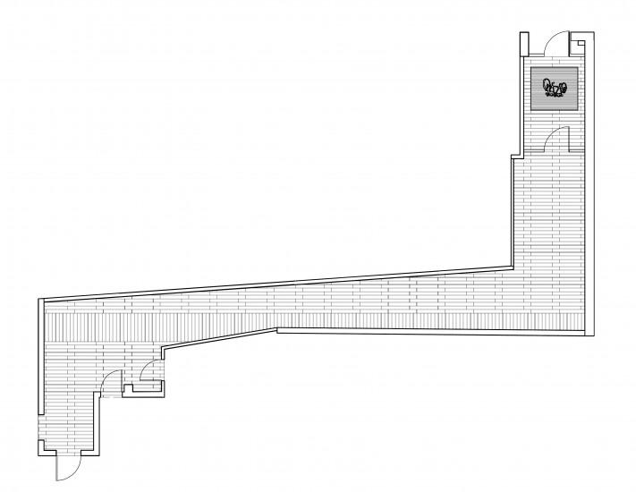 Z:TANDEM LOFTSCAD DWG AND PDFShallway plan Provenza Tile Layo